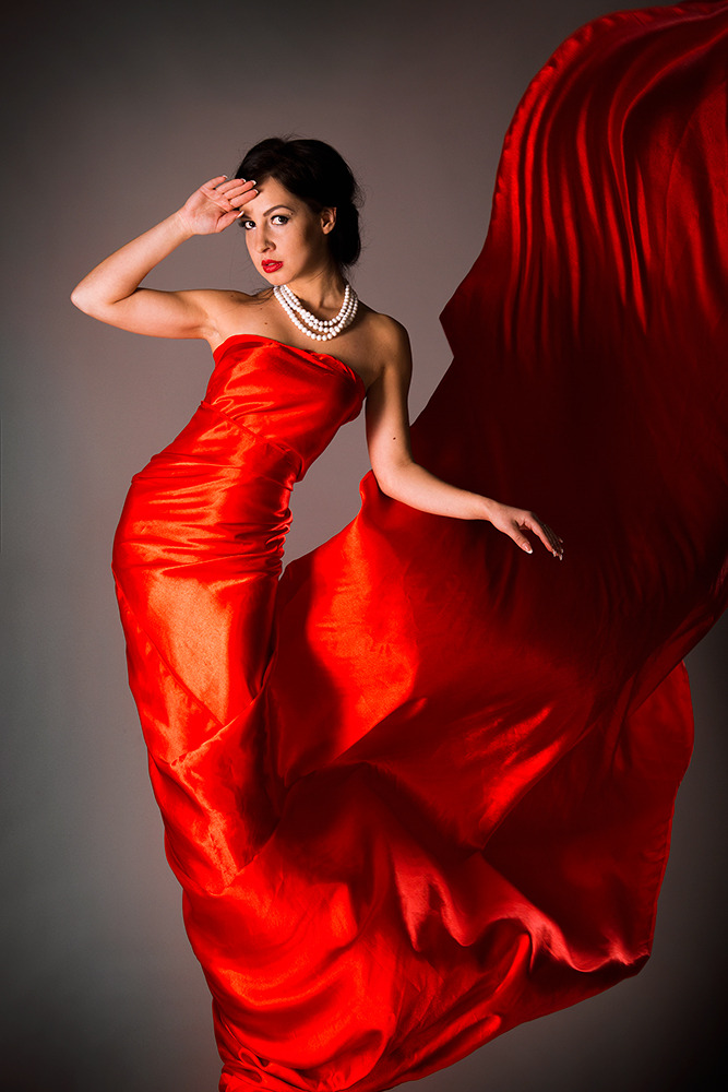 Girl wearing red dress | red dress, fancy pose, photo shoot