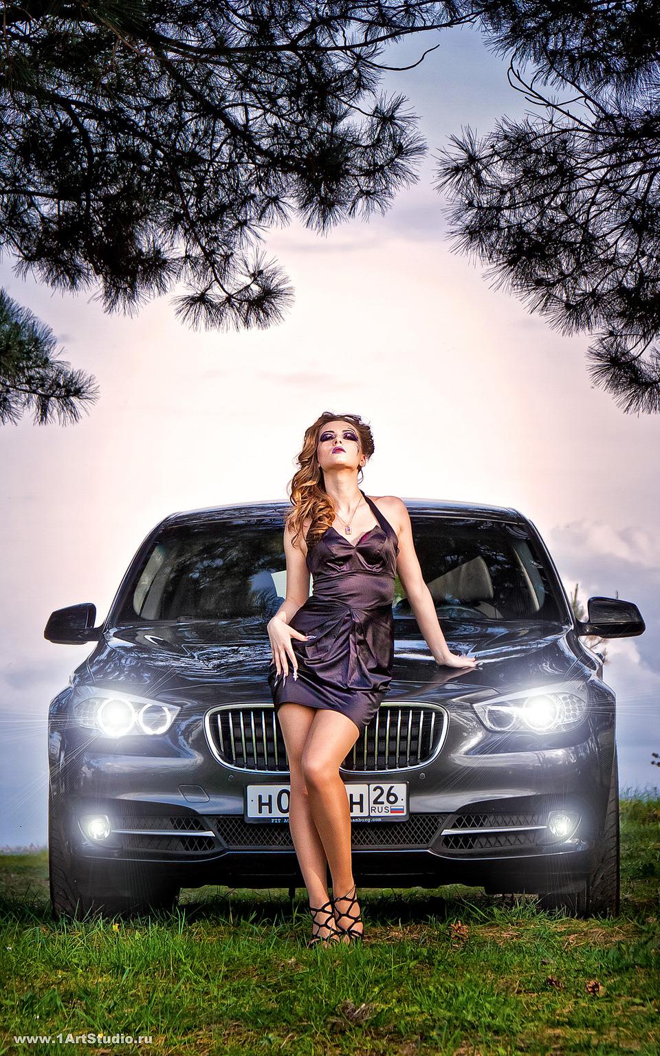 BMW | portrait, spruce, wild, enviromental portrait