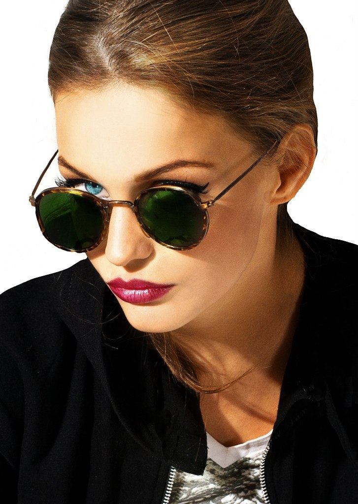 Be my teacher | roleplay, sunglasses, red lips, black jacket