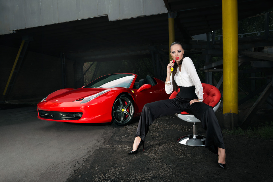 Stylish glamour | red, ferrari, chair