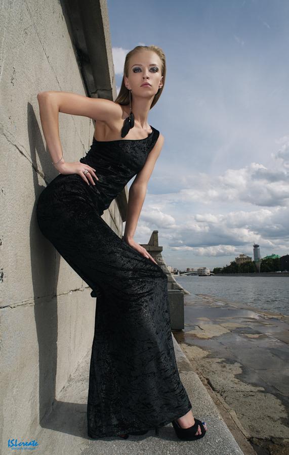Slim babe | black dress