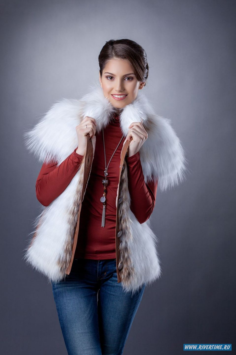 Nicely dressed cute girl | winter coat, cute girl, photoshoot, smile, perfect teeth